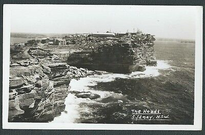 Vintage Postcard - The Heads Sydney NSW - Free Postage