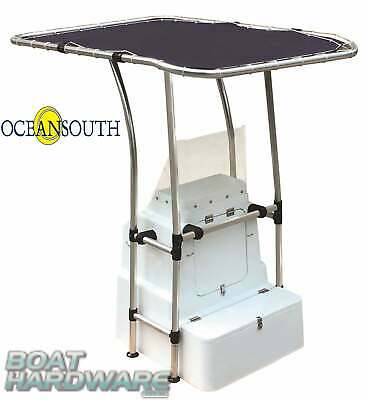 Heavy Duty Boat T Top Centre Console Cover Sun Protect Shelter Oceansouth Canvas