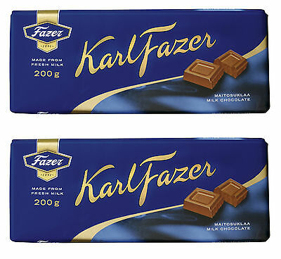 Fazer Blue Milk Chocolate Bar 2 x 200 g