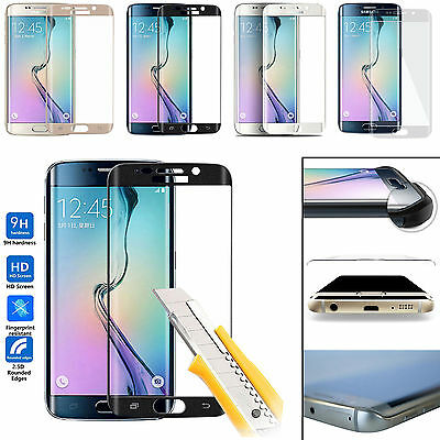 Hard Tempered Gorilla Glass Protector Film for Samsung Galaxy S7 S6 edge Plus