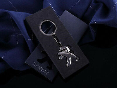 Carjoy Zinc Alloy Real Leather Toyota Embossed Car Key Ring Keyring Chain Gift