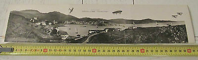 Cpa Panoramique Tripli 1920 Banyuls Sur Mer Cote Vermeille Prunot Narbonne