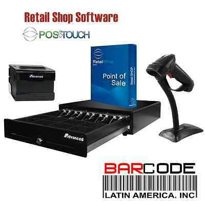 Retail Point of Sale Software POS&TOUCH SOFTWARE