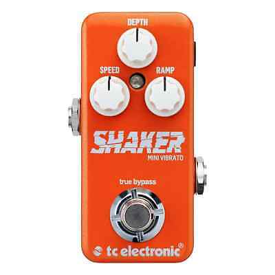 TC Electronic Shaker Mini Vibrato Guitar Effects Pedal NEW UK Stock