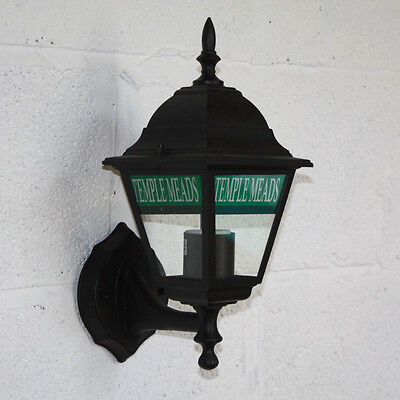 Personalised Station Lantern, Outdoor Lantern, Vintage style Train Light Lamp