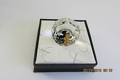 Swarovski Crystal Paperweight Small Disney's Mickey Mouse