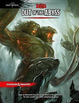 OUT OF THE ABYSS Dungeons and Dragons 5TH EDITION