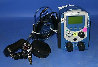 (1) Used Nordson EFD 2400 Series Dispensing Workstation W/ Footswitch, 0-100 PSI