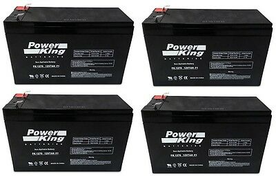 APC Smart-UPS 1500 RM 2U Battery Replacement Batteries - Kit of 4