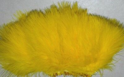 Light Gray Blood Quill Marabou Feathers Fly and Jig Tying 1//2 oz
