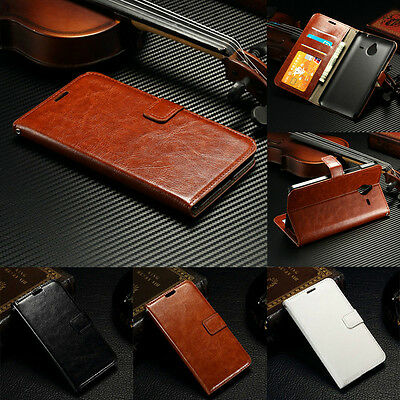 Luxury Flip PU Leather Wallet Card Cover Stand Case For Microsoft Nokia Lumia