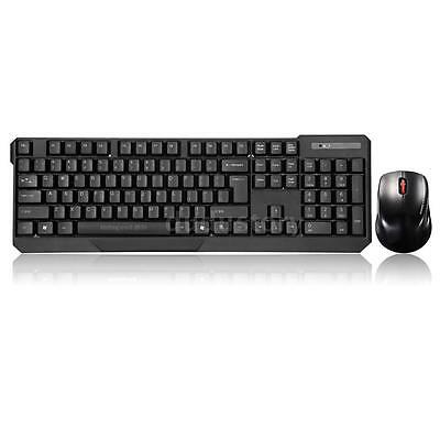 2.4GHz USB Wireless Keyboard and Optical Mouse Combo for PC Laptop Desktop G1R9