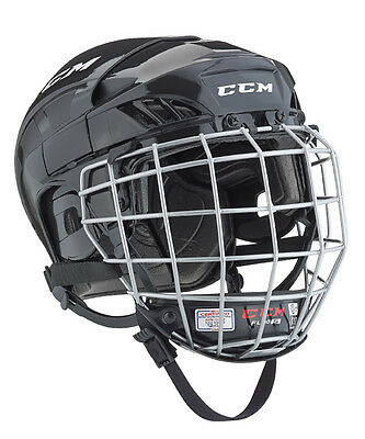 CCM FL40 Senior Ice Hockey Helmet Combo