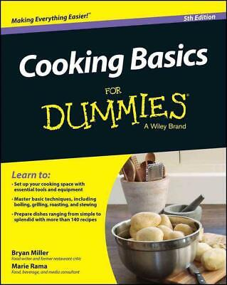Cooking Basics for Dummies by Dummies Paperback Book (English)