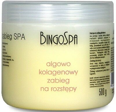 BingoSpa Algae and Collagen Stretch Mark Reducing Treatment 500g