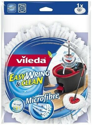 Vileda Easy Wring and Clean Microfibre Mop Refill Head New