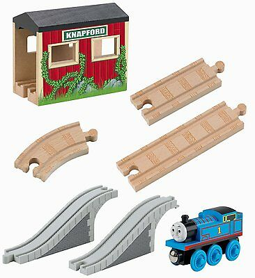 Thomas And Friends Wooden Railway 5 In 1 Up And Around Set Fisher Price Y4418