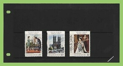 Bahamas 1977 Silver Jubilee roulettes set used
