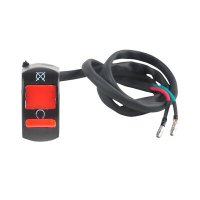 Motorcycle ON/OFF Kill Stop Switch Button Fit KTM Models w/ 7/8'' Handlebar