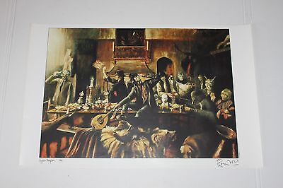 Beggars Banquet 1990 Ronnie Wood Print sold by Rolling Stones in limited edition
