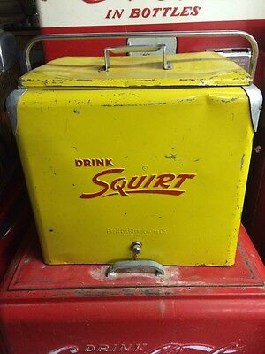 Vintage Squirt A1 Cooler!! Coca Cola 7Up Rare!!!!