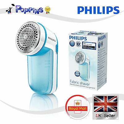 New Genuine PHILIPS Fabric shaver GC026/00 Blue Electric Lint Removers