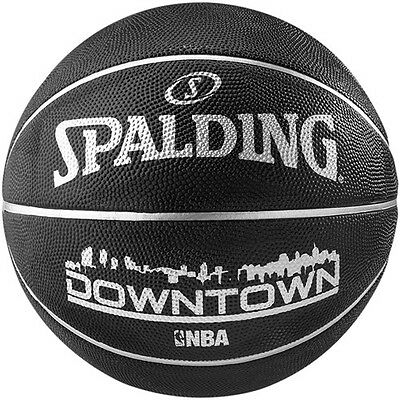 Basketball Spalding NBA Downtown Black Official Size 7