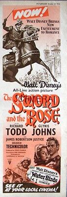 The SWORD And The ROSE Original 1953 Film Advert - Richard Todd Movie Ad