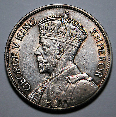 1934 George V Southern Rhodesia 2 Two Shillings Silver VF/aEF