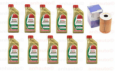 10-Liters 10w60 CASTROL PROFESSIONAL TWS Synthetic Motor Oil + Oil Filter M5 M6