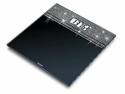 Rhinestone Glass Scale, Accurate and Decorative and Ultra Slim Design Weight New