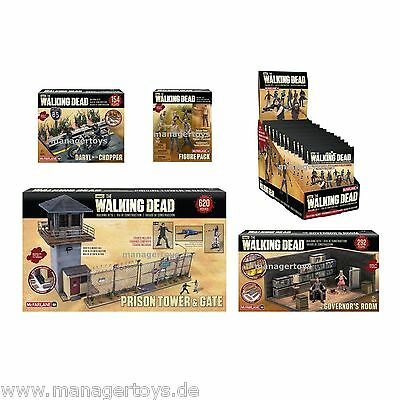 McFARLANE THE WALKING DEAD BUILDING Set Collection 5 Baukästen über 1000 Teile