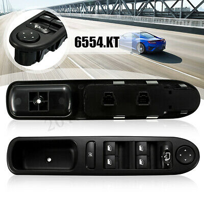 Driver Side Master Window Switch Console For Peugeot 307CC 307 SW CC 6554.KT
