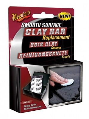 Meguiar`s Smooth Surface Quick Clay Ersatz-Reinigungsknete 50g– G1001