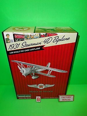 2015 Wings Of Texaco Airplane #23 1931 Stearman 4D Biplane Model Special Edi. B