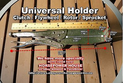 UNIVERSAL CLUTCH HOLDING TOOL COMPARABLE to Yamaha 9089004086 many YZ models