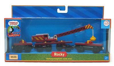 Thomas The Tank & Friends -Wooden Rocky-Red Label-New/retired-Learning Curve!!