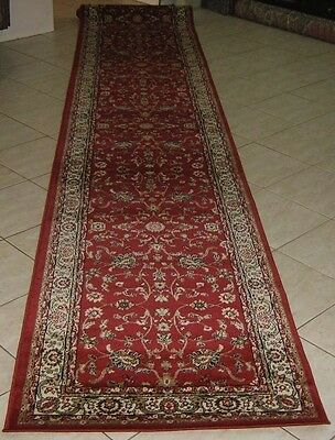 New Persian Design Heatset Floor Hallway Runner Rug 80X300Cm