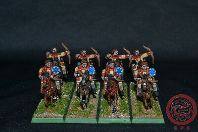 28mm Ancient WAB DPS Painted Late Roman / Early Byzantine Horse Archer 2045