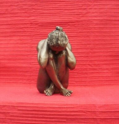 Frith Sculpture CELINE - A NUDE by Paul Jenkins in cold cast bronze - S086
