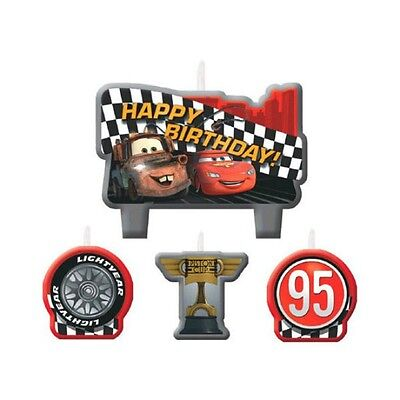 Party Supplies Birthday Disney Cars 2 Candles