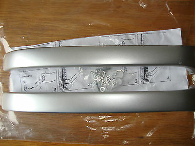 Door Handles -  Bosch Fridge Freezer  Kge Kgv Kgu - Silver/grey I Pair.