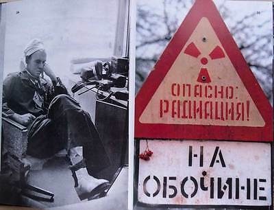 Book Album CHERNOBYL DISASTER ZONE Radiation Pollution Nuclear Photo Russian