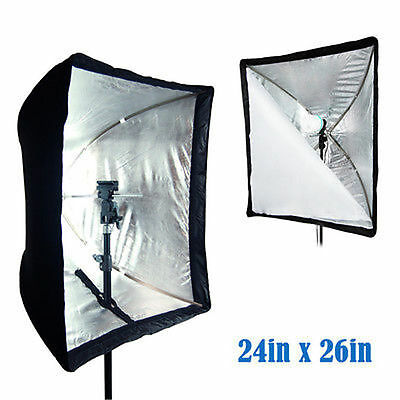 "Lusana Studio 24""X26"" Umbrella Softbox For Speedlite/ Studio Flash/ Speedlight"