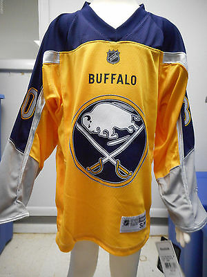 NHL Buffalo Sabres Ryan Miller Youth Ice Hockey Shirt Jersey