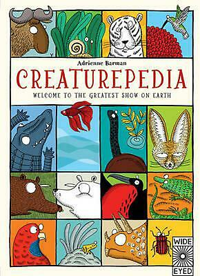 Creaturepedia by Adrienne Barman Hardcover Book (English)