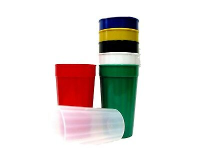 100 Large 32 Oz Plastic Drinking Tumblers/Cups/Glasses Choice 10 Colors Mfg USA