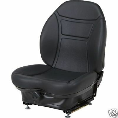 Black Suspension Seat For Cat, Caterpillar Skid Steer Loader 216 226 246 248 #qk