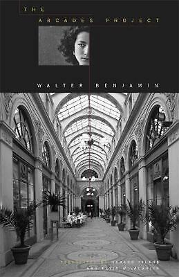 Arcades Project P by Walter Benjamin (English) Paperback Book Free Shipping!