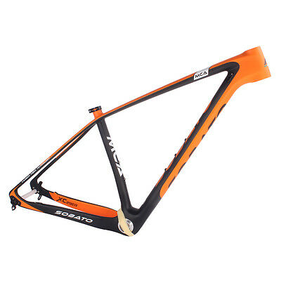 new carbon BSA MTB frame 29er Mountain bicycle frame thru AXle T800 UD Carbon